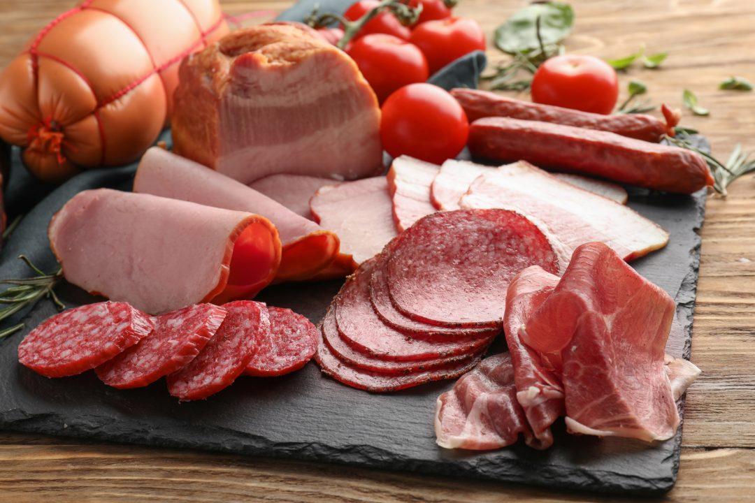 Verarbeitetes Fleisch